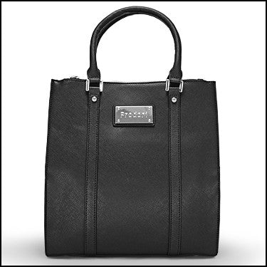 PRODORI Black Luxury Leather Handbag - Tote