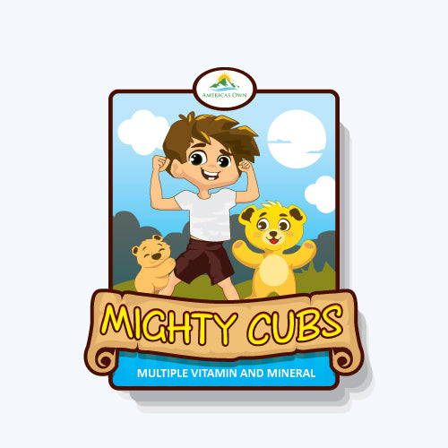 Mighty Cubs - Multivitamin and Mineral