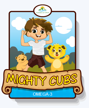 Mighty Cubs - Omega-3