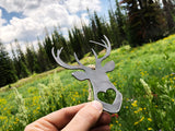 Deer Metal Ornament