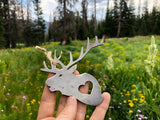 Elk Metal Ornament