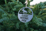 Glacier National Park Ornament