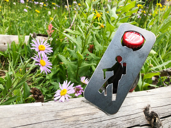 Hiker Bottle Opener