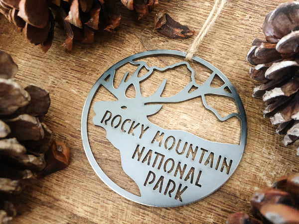 Rocky Mountain National Park Ornament