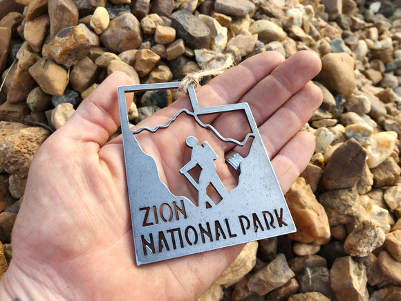 Zion National Park Hike Utah Ornament