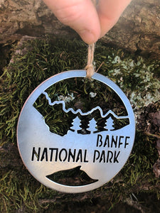 Banff National Park Ornament