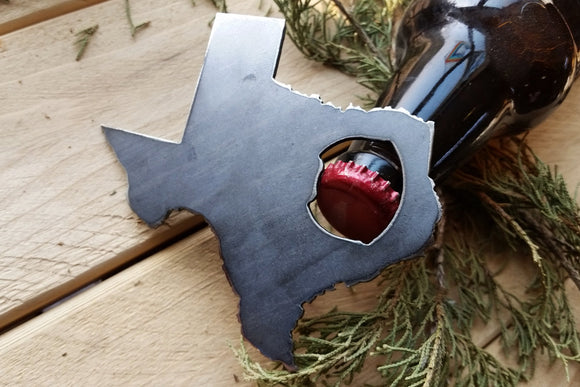 Texas State Metal Bottle Opener