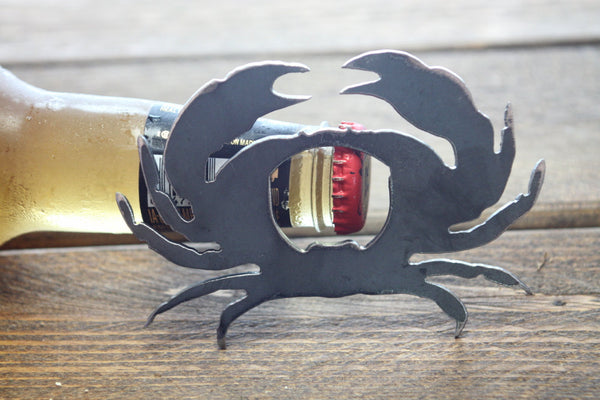 Crab Metal Bottle Opener