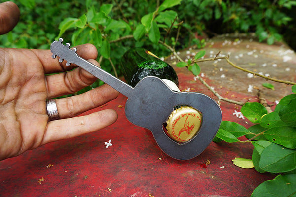 Acoustic Guitar Bottle Opener