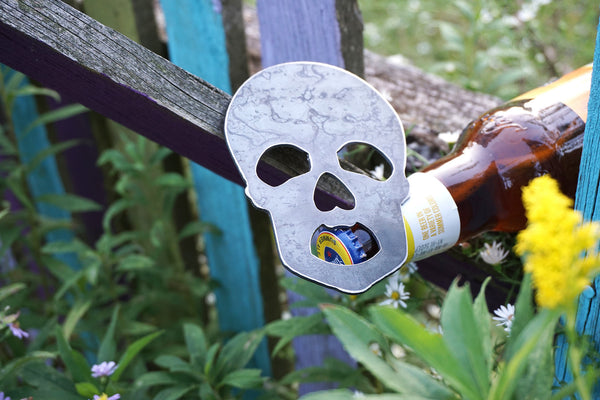 Skull Metal Bottle Opener