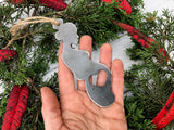 Mom to Be Metal Ornament with Heart