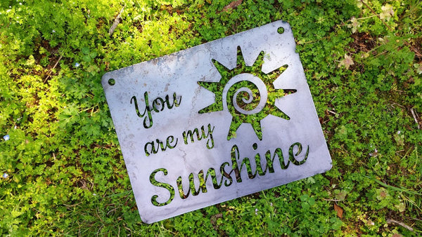 "You are my Sunshine 14"" x 11"" Sign"