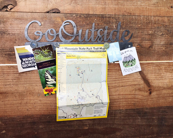 "Go Outside 23"" Magnet Board"