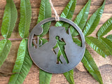 Desert Hiker Ornament