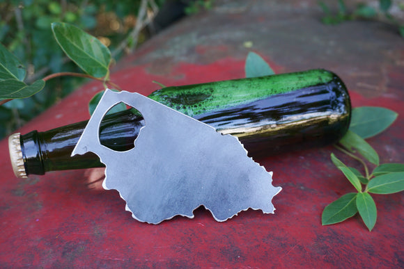 Illinois State Metal Bottle Opener