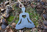Yoga Ornament with Heart