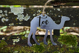 Camel Toe Punny Metal Ornament
