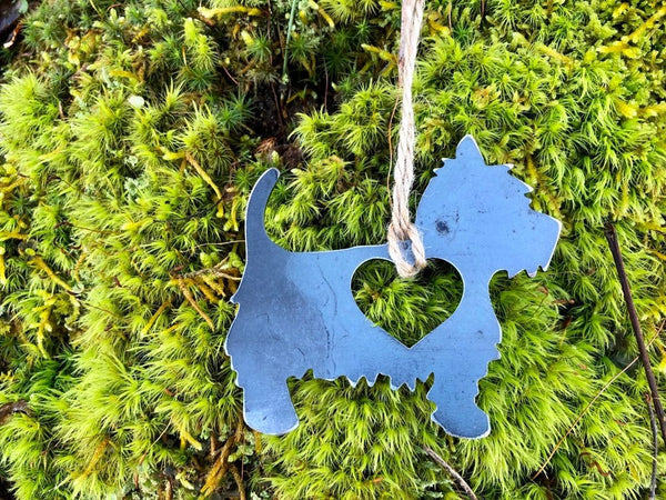 Westie Terrier Ornament