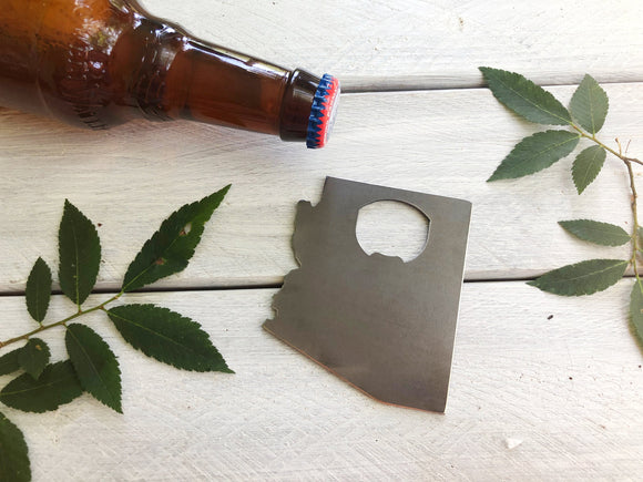 Arizona State Metal Bottle Opener