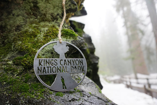 Kings Canyon National Park Ornament