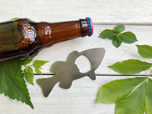 Bass Metal Bottle Opener