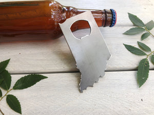 Indiana State Metal Bottle Opener