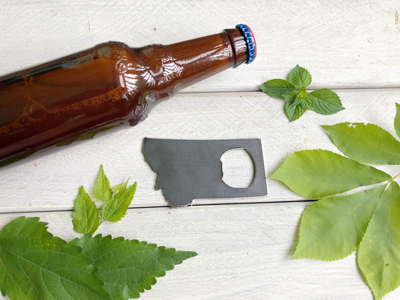 Montana State Metal Bottle Opener