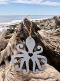 Octopus Metal Ornament