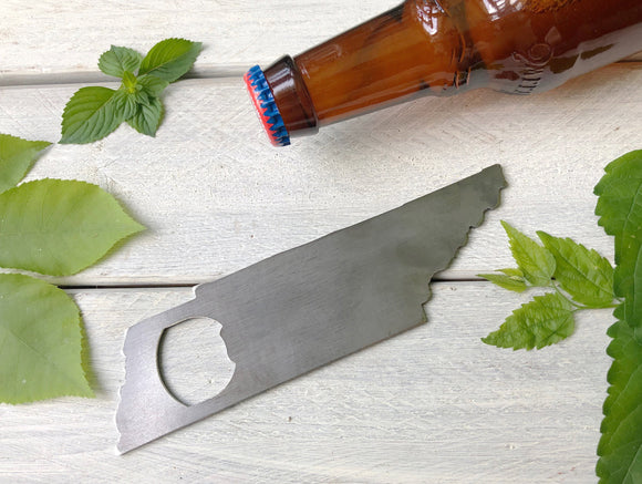 Tennessee State Metal Bottle Opener