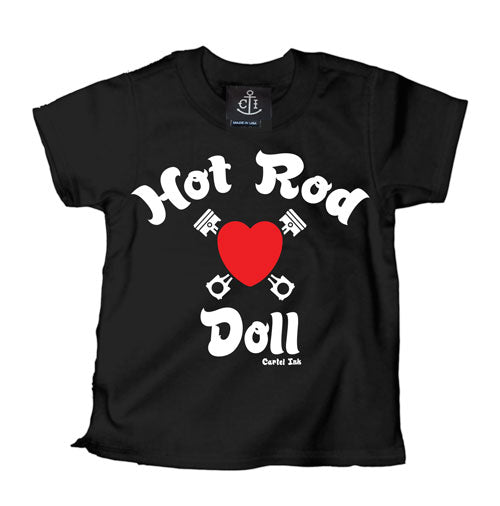Hot Rod Doll Kid's T-Shirt