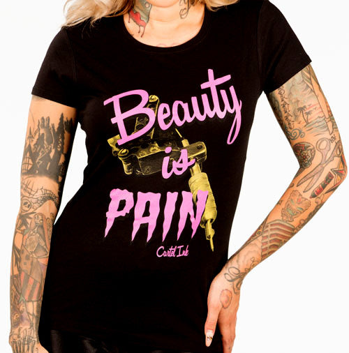 Beauty is Pain Women's T-Shirt