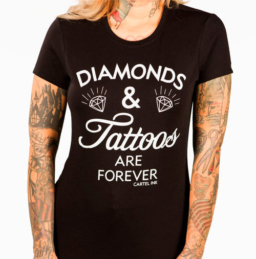 diamonds and tattoos are forever