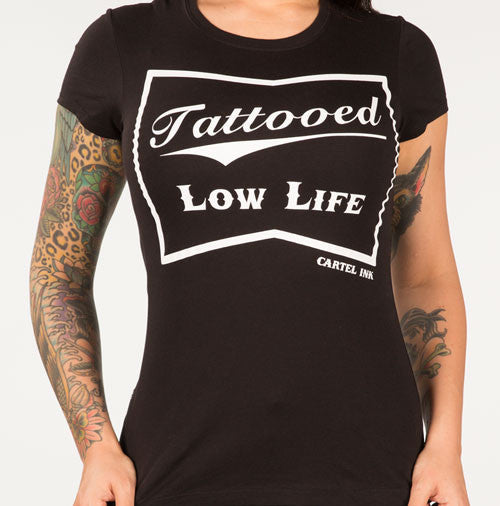 tattooed low life tee