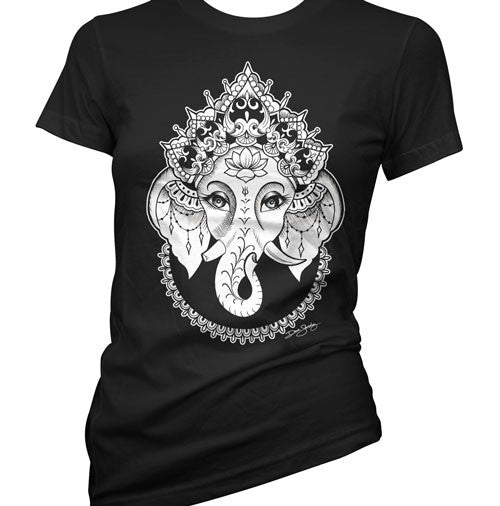 Ganesha Tattoo Women's T-Shirt