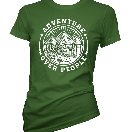 Adventure over People Women's T-Shirt
