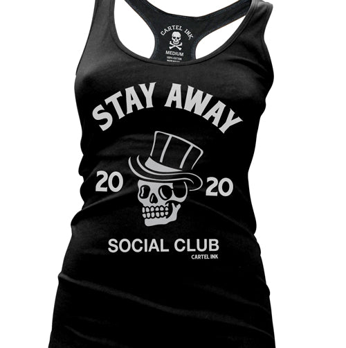 SA Social Club Women's Racer Back Tank Top
