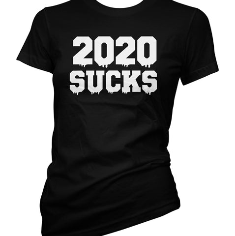 2020 Sucks Women's Racer Back Tank Top
