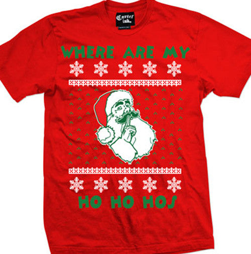 Ho Ho Hos Ugly Christmas Sweater Men's T-Shirt