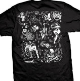 Hard Street Tattoo Flash Men's T-Shirt