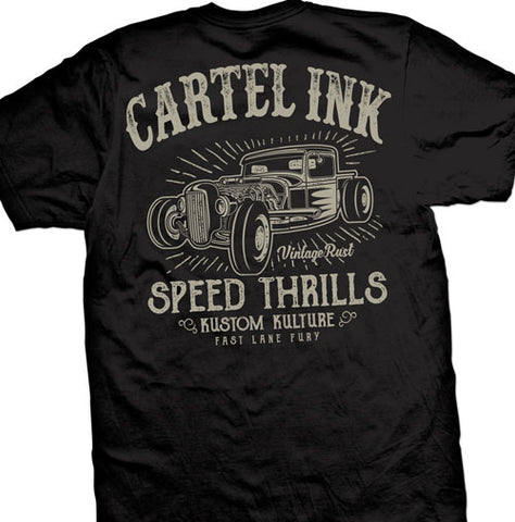 Cartel Ink Stacked Men's T-Shirt