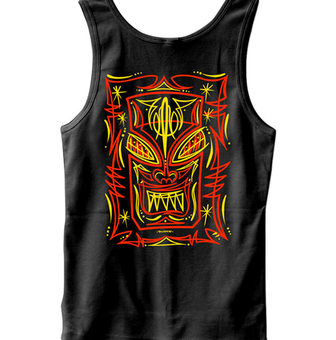 Pinstriped Pinup Men's Tank Top