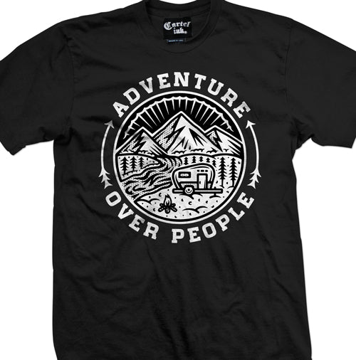 Adventure over people