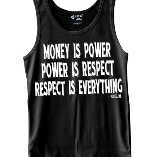 Respect is Everything Men's Tank Top