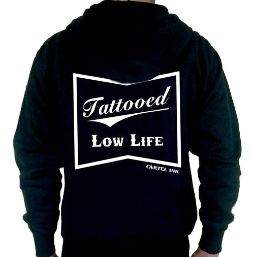 Tattooed Low Life Hooded Sweatshirt