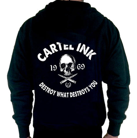 Death Skull Crew Neck Sweat Shirt