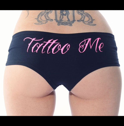 Tattoo Me Booty Short