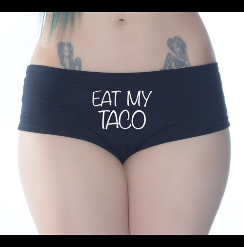 Eat My Taco Booty Short