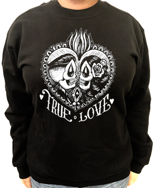 True Love Women's Crew Neck Sweat Shirt