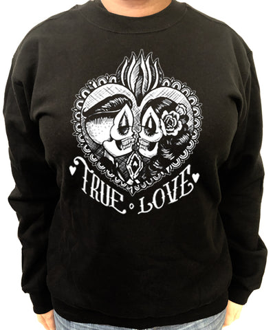 Support your Loco Tattoo Artist Men's Crew Neck Sweat Shirt