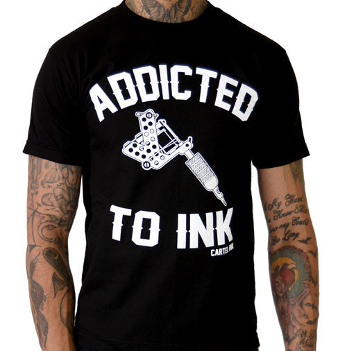 Addicted To Ink Men's T-Shirt